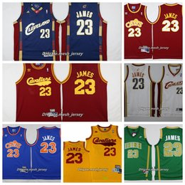 eb8deac82 Retro 2019 St. Vincent Mary High School Laker Irish LeBron James Jerseys  Basketball Shirt Green White LeBron James No.23 Stitched Jerseys
