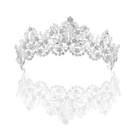 Wholesale New Luxury Crystal AB Bridal Crown Tiaras Diadem Tiaras for Women Bride Wedding Hair Accessories A0450