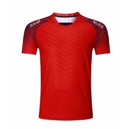 Clothes Kitting Australia - Men Sport Tennis Shirt Outdoor Clothing Kit Running T-shirt Sportswear Table Badminton Soccer Jerseys Quick Dry Fitness Clothes