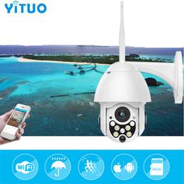 Discount outdoor pan tilt cameras - 1080P 2MP Wireless IP Camera Wifi Speed Dome PTZ Outdoor IP66 Onvif Two Way Audio IR Night Vision CCTV Security Camera I