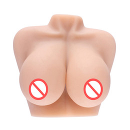 women masturbation doll UK - 4.2KG Big Breast Real Silicone Sex Doll for Men, Male Masturbation 3D Solid Love Dolls Adult Sex Toys