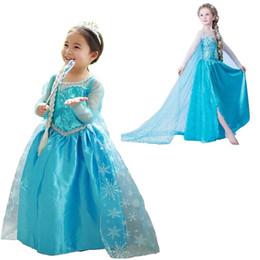 $enCountryForm.capitalKeyWord Australia - Autumn Long Sleeves Dresses Girls Little Princess Role-play Costume Dress Kid's Party Dress Girl Clothes Children Halloween Costumes 8T