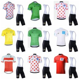 $enCountryForm.capitalKeyWord Australia - Tour de France team Cycling Short Sleeves jersey (bib) shorts sets Bicycle clothing breathable outdoor sports MTB bike Ropa Ciclismo 90426J