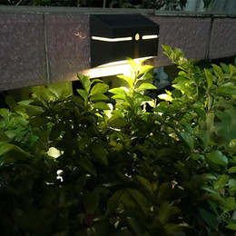 pack ni mh UK - 1 pack 1 pc Solar wall lamp LED lawn lamp human body induction light outdoor courtyard lamp fence light street lighting 10021