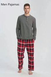 Wholesale man pajamas for sale - Group buy New Autumn Men Sleep Pajamas Sleeping Home Clothing Cotton Eur Plus Size Sleepingwear Homme Quality Sales