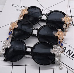 $enCountryForm.capitalKeyWord Australia - Designer sunglasses fashion three-dimensional tiger head rhinestone carved sunglasses sexy exaggerated party sunglasses wholesale 0725