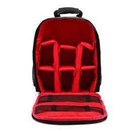 $enCountryForm.capitalKeyWord Australia - Designers Multi-functional Camera Backpack Video Digital DSLR Bag Waterproof Outdoor Camera Bag Case for Nikon for Canon 25*15*34cm