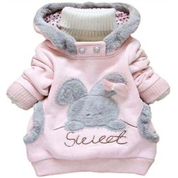 China Children Cartoon Cap Jacket Children Cotton Padded Clothes Pure Cotton Sweater Pure Rabbit Sanitary Clothes Long Sleeves 4 suppliers