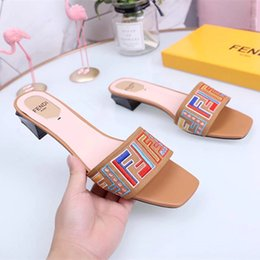 $enCountryForm.capitalKeyWord NZ - With Box 2019 Monster Women Slides Thick Soled Slippers Summer Platform Sandals Women Shoes Flip Flops Zapatillas Mujer