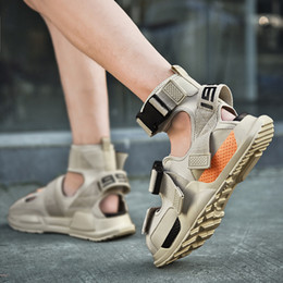 $enCountryForm.capitalKeyWord NZ - Pretty2019 Male Sandals Summer Youth Ins Trend All-match Outside Clothes Personality Rome Motion Sandy Beach