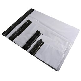 $enCountryForm.capitalKeyWord UK - Courier Bags 100pcs Gray White Storage Bag Plastic Poly Shipping Bag Envelope Mailing Bags Self Adhesive Seal Plastic Pouch