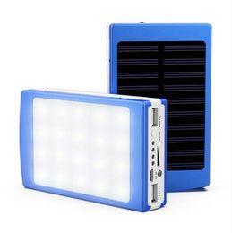 $enCountryForm.capitalKeyWord Australia - Solar LED Portable Dual USB Power Bank 5x18650 External Battery Charger DIY Box portable charging for phone poverbank External