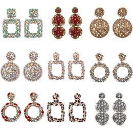 be31cc800 Geometric Earring Best lady Fashion ZA Resin Drop Earring For Women Wedding  Luxury Jewelry Boho Elegant Shiny Dangle Statement Earrings