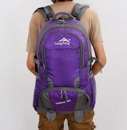 Climbing Bags Sports & Entertainment Waterproof Nylon Outdoor Breathable Mountaineering Bag Folding Backpack Wear Shoulder Bag Diamond Lattice