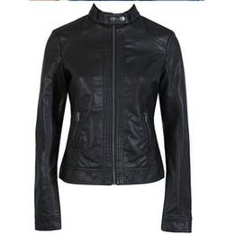 $enCountryForm.capitalKeyWord Canada - 2018 Fashion New Women's Jacket European Fashion Leather Jacket Pimkie Cleaning Single Pu Leather Motorcycle Temale Women's Leat T190730