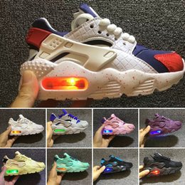 $enCountryForm.capitalKeyWord Australia - 2018 Air Huarache infant Running Shoes kids sports White Children Huaraches huraches Designer Hurache Casual trainers Baby Running Sneakers