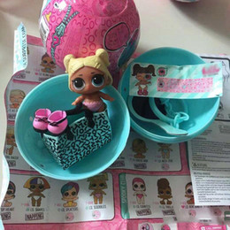 $enCountryForm.capitalKeyWord Australia - Arrived Original Doll In Ball LoL Series 4 Little Sister Dolls Color Change Baby Child Toy With Accessories Good Xmas Gifts For Children