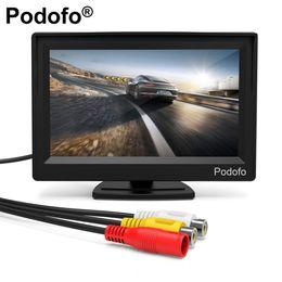 $enCountryForm.capitalKeyWord Australia - Podofo 5'' Monitor TFT LCD Color Screen 2 Video Inputs 2 Brackets For Rear View Backup Reverse Camera DVD Car Rear View Monitor