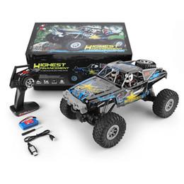 $enCountryForm.capitalKeyWord Australia - wholesale 104310 2.4G 1 10 4WD Double Bridge Crawler RC Car 40 Minis Using With Transmitter Charger 2019 New Toys For Kids Toys