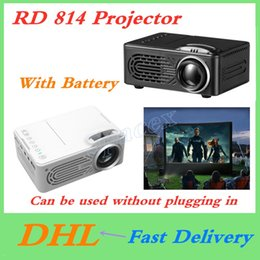 $enCountryForm.capitalKeyWord Australia - RD814 Projector LED Mini Multimedia Player Home Theater Projector Support 1080P With Battery Can be Used Without pling in Electric power