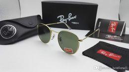 Polaroid glasses online shopping - New Round Metal Sunglasses Designer  Eyewear RAY Gold Flash Glass Lens 875cb59867