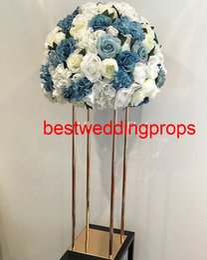 $enCountryForm.capitalKeyWord Australia - new style silk cherry blossom flower wedding arch peach blossom flower metal frame for stage decoration best01173
