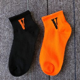 Wholesale Model Boats Australia - models socks tide brand cotton spring and summer short tube boat socks men's low to help shallow mouth sweat and deodorant