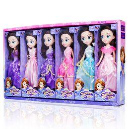 LittLe girLs toys online shopping - 25CM Barbie doll confused girl doll toy styles princess dress big eye girls dolls Little girl s birthday gift