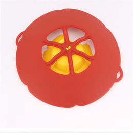 $enCountryForm.capitalKeyWord UK - Kitchen Gadgets Silicone Lid Spill Stopper Pan Cover 28.5cm Diameter Cooking Tools Pot Lids Utensil