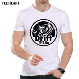 Discount funny cars jokes - Drift For Life Fast Driving Cars Adrenaline Funny Joke Men T Shirt Tee T-shirt Men High Quality Tees