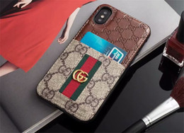 Snake pu leather caSe online shopping - Luxury Phone Case for Samsung S8 S9 S10 S10plus Note8 Leather Bee Snake Pattern Print Designer Phone Case for iPhone X Xs Max Xr plus