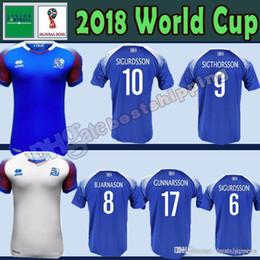 309802b4c41 18 19 Iceland jerseys 2018 World Cup Iceland G.SIGURDSSON  10 GUDMUNDSSON   6 Soccer Jersey SIGTHORSSON  9 TRAUSTASON  21 football shirts