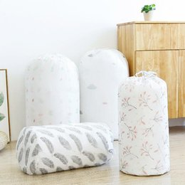 $enCountryForm.capitalKeyWord Australia - drawstring quilt storage bags clothes packaging toys packing bag quilt closet organizer clothing bag for pillow blanket bedding