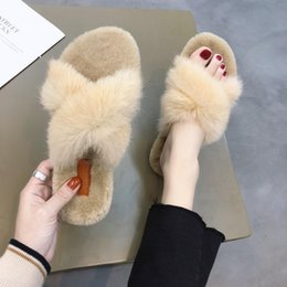 Baby Slipper Heels NZ - Sexy2019 Autumn And Pattern Baby Woman Cool Time Joker Crossing Other Clothes One Word Keep Warm Cotton Slipper