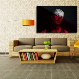 York Canvas Prints Australia - The New York rapper Lil Peep Singer Songwriter Art Canvas Poster Painting Wall Picture Print For Home Bedroom Decoration