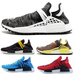 trail trainers UK - Human RACE HU Williams Trail Mens Designer Sports neutral spikes Running Shoes for Men Sneakers Women Casual Trainers shoes