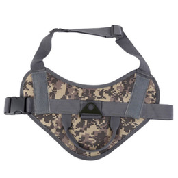 $enCountryForm.capitalKeyWord Australia - Tactical Service Dog Vest Training Hunting Molle Nylon Water-resistant Puppy Clothes Adjustable Dog Harness with Handle