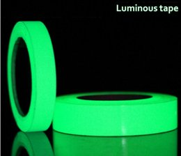 tape glow NZ - Luminous adhesive tape 15mm x 3M Roll Luminous Tape Self-adhesive Glow In The Dark Safety Stage Home Decorations Warning Tape