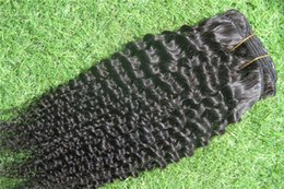 bleach products Australia - Black Color 7A Unprocessed Deep Curly Hair Products 100% Human Hair Bundles 10-30 Inches Non Remy Hair Weave Bundles Brazilian