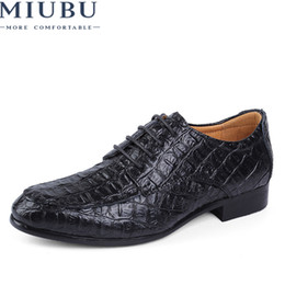 $enCountryForm.capitalKeyWord Australia - MIUBU Brand Genuine Leather Oxford Shoes For Men Business Men Crocodile Shoes Men's Dress Plus Size Wedding Man