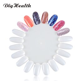 $enCountryForm.capitalKeyWord Australia - Dighealth 5 10pcs Fake Nail Art Tips Display Disk Designs Transparent White Color Card Training Palette Nails Tools Manicure
