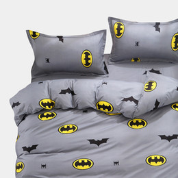 twin size bedding sets for kids UK - Cartoon Kids Bedding Sets Russia Single Twin Queen Size For boy Child baby Duvet Cover Set Sheet Set 140*200 bed linen CJ191217