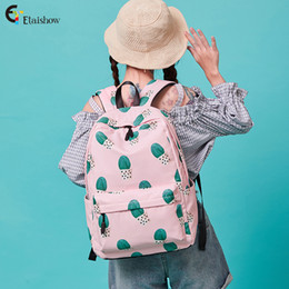 $enCountryForm.capitalKeyWord Australia - Middle High School Bags for Teenage Girls Floral Prints Cute Large Capacity Bookbags Women Girls Travel Backpack