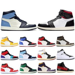 $enCountryForm.capitalKeyWord Australia - Classic Obsidian Travis Scotts High OG GYM RED 1 Basketball shoes Spiderman UNC 1s top 3 Phantom Mens Trainers Sports Designer Sneakers