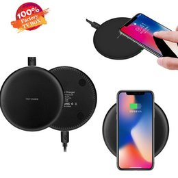 5v qi wireless charger note Australia - New Portable Fast Quick Qi wireless charger charging 9V 1.67A 5V 2A portable Charger For Samsung Galaxy S8 Note 8 Iphone X 8 Plus
