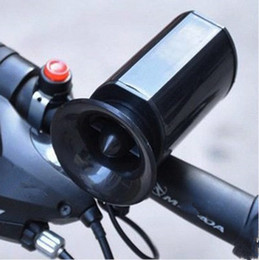 Preto Sons Super Alto Ultra-alto Eletrônico Bicicleta Chifres Mountain Bike Eletrônico Sino Becycle Montando Chifre ZZA535 venda por atacado