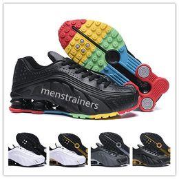 low priced e3c3a 50a22 nike shox r4 air max Shox Deliver Chaussures De Course Zapatillas Hombre Nz  Hommes Designer Baskets Chaussures De Basketball Pas Cher Pour Hommes Tlx  ...