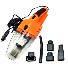 12v led lights connector online shopping - Car Vacuum Cleaner V W Portable Handheld Wet And Dry Dual Use Meters Connector Cable with LED Light Multi Dust Collector