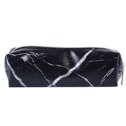 makeup tote bags 2019 - Summer Fashion Marble Makeup Bag Beauty Case Cosmetic Bag Makeup Tools Women Necessaire Feminina Portable Tote Toiletry