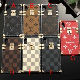 TPU silicone macio shell phone case capa para iphone xs max 7 7 plus 6 6 plus xr x 8 8 mais marca design com cordão venda por atacado